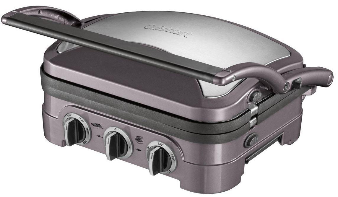 Cuisinart GR40E Cuisinart Griddler GR40E   Multifunktionsgrill mit PFOA freien wendbaren Grillplatten für 90€