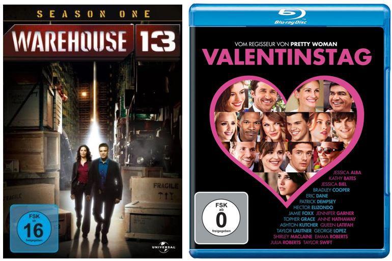 Warehouse 13 ab 9,97€ und mehr bei den Amazon DVD und Blu ray Angeboten der Woche