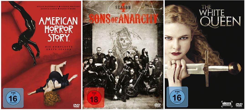 130 TV Serien Boxen bei den Amazon DVD und Blu ray Angeboten der Woche