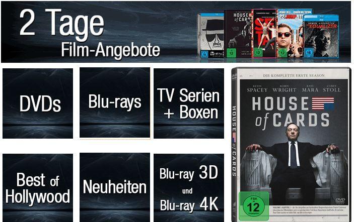 DVD Blu rays 2 Tage Film Angebote   DVDs, Blu rays, 3D und 4K   z.B. Eine schrecklich nette Familie   Die komplette Serie für 44,97€