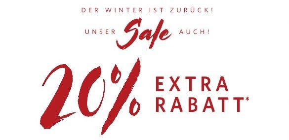 20% Extra Rabatt im Esprit Winter Sale   nur auf reduzierte Ware gültig