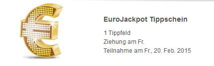Eurojackpot Lottoland: Gratis Tippfeld für EuroJackpot für Neukunden   Jackpot: 49.000.000€   Update