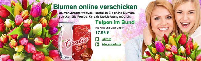 FloraPrima1 18% Rabatt ohne MBW bei FloraPrima + gratis Geschenke (Glasvase, Schokolade, ...)
