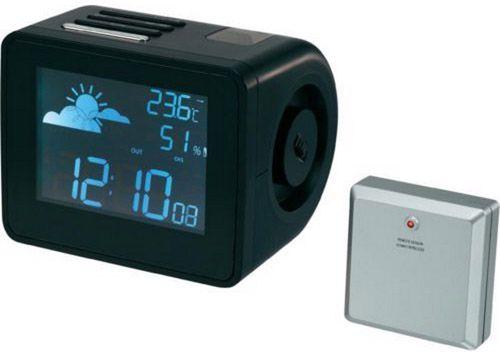 Funk Projektionsuhr mit Wetterforecast für 24,99€