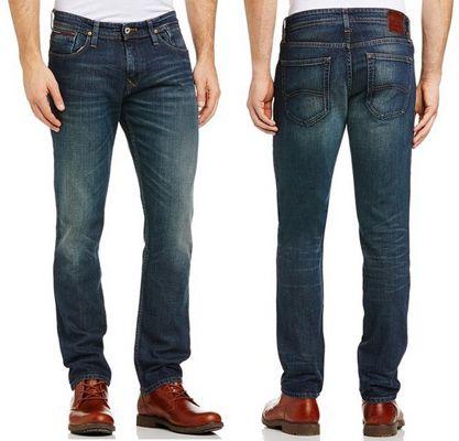 Hilfiger Denim Herren Slim Jeans Scanton OLC für 50€