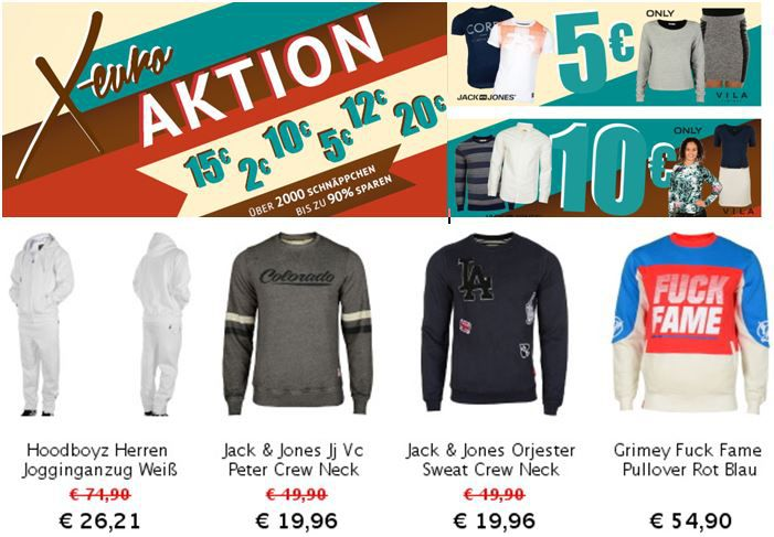 Jack & Jones CORE T Shirts ab 5€ bei dem Hoodboyz X Sale   Update