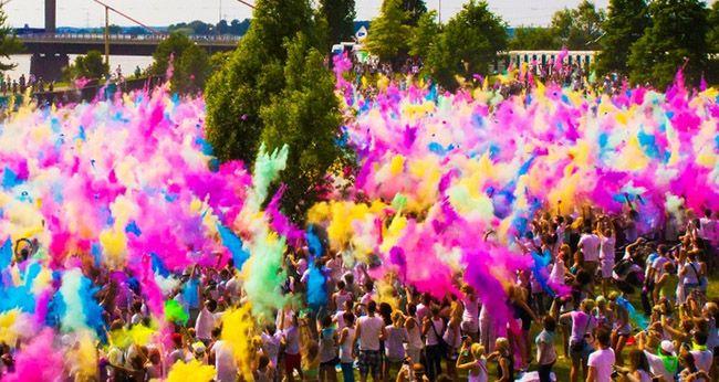 2 Karten für das Holi Festival of Colours für 15,99€   Leipzig, Dresden, Gießen, Essen, Saarbrücken, Karlsruhe oder Mannheim