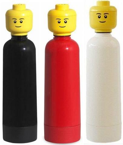 Buchhändler Hugendubel mit bis 80% Rabatt + VSK frei   z.B. Lego Trinkflasche mit 0,4l Volumen für 4,99€