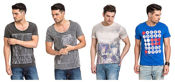Jack and Jones   coole Herren T Shirts für je 9,99€   Update