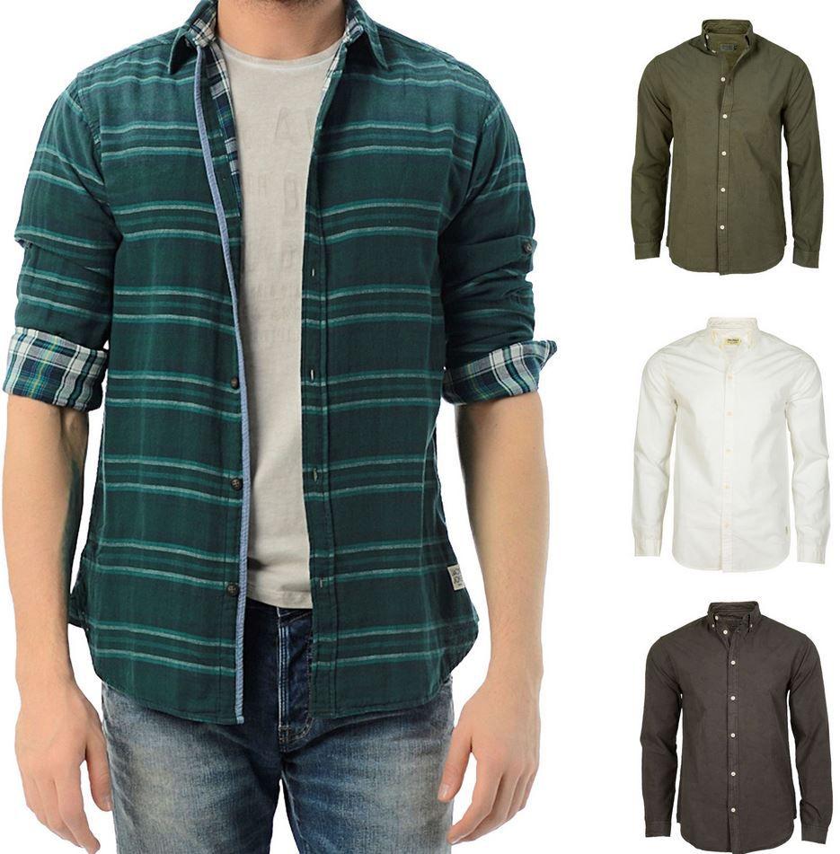 Jack and Jones SlimFit Freizeithemden div. Farben und Styles für je 14,90€
