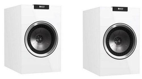 KEF R100 Surround Lautsprecher (Paar) in Hochglanz Weiß für 593€