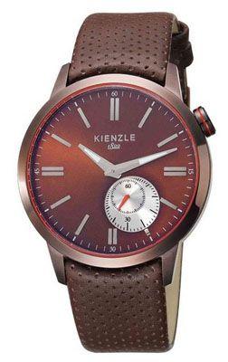 Kienzle Herren Armbanduhr XL Analog mit Lederarmband für 99€