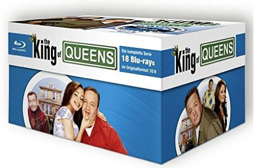 The King of Queens HD Superbox für 82€ bei Buecher.de