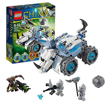 Lego 70131 Legends of Chima: Rogons Nashorn Cruiser für 20,94€