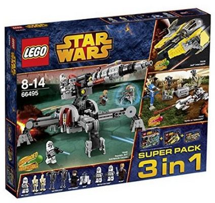 Lego Star Wars 66495 Lego Star Wars 66495 3 in 1 Super Pack ab 39,95€