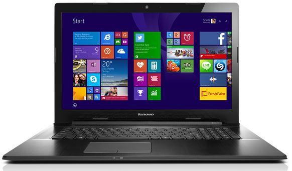 Lenovo G70 70   17,3 Zoll Notebook mit Pentium N3558U, 4 GB RAM, 500 GB Festplatte für 249€