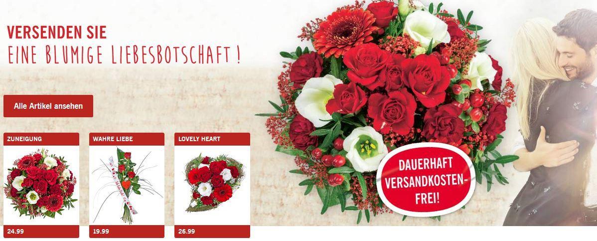 Lidl Valentinsgrüsse   Blumen Mit 15% Gutscheincode (25u20ac MBW) +  Versandkostenfrei