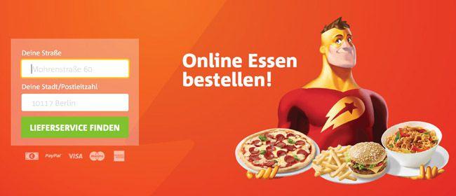 3€ Lieferheld Gutscheincode mit 8€ MBW (auch für Bestandskunden, App benötigt)