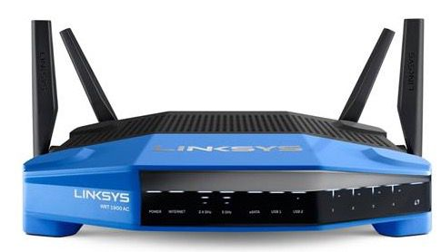 Linksys WRT1900AC Smart Dual Band Gigabit AC1900 WLAN Router mit USB 3.0 für 199,90€