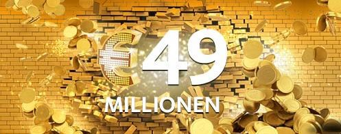 Lotto Lottoland: Gratis Tippfeld für EuroJackpot für Neukunden   Jackpot: 49.000.000€   Update