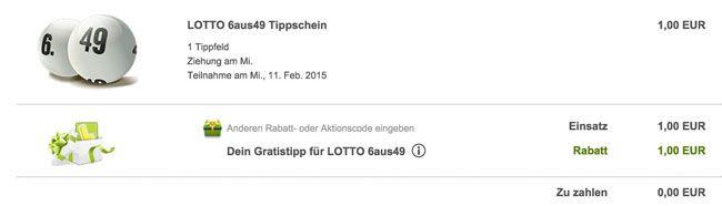 Lottoland Tipp Lottoland: Gratis Tippfeld für 6 aus 49 für Neukunden