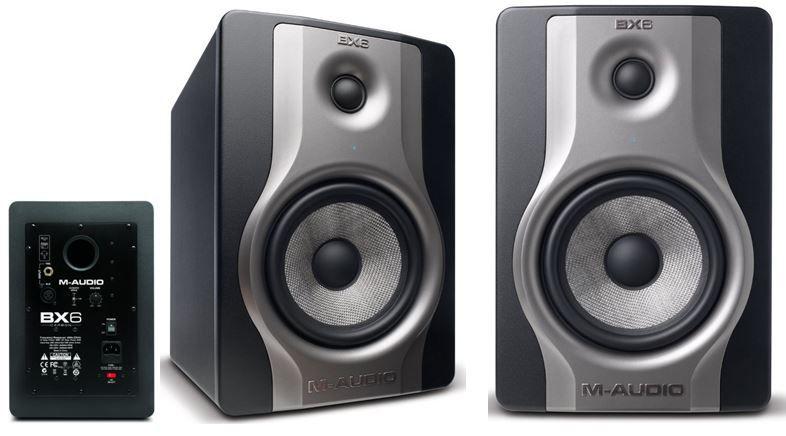 M audio M Audio BX6 Carbon Studiomonitor   Lautsprecherpaar statt 318€ für 229€   Update
