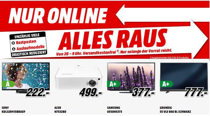 Battlefield 4 [PlayStation 3 oder XBox 360] für 12€   und 198 mehr gute MediaMarkt Angebote: Alles Muss Raus   Update