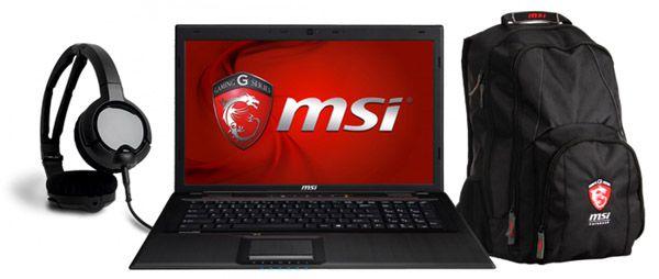 MSI GP70 2PEi581FD   17 Zoll Full HD Gaming Notebook + Rucksack + Headset für 629€