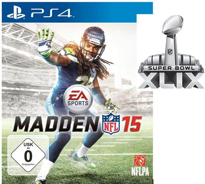 MADDEN NFL 15 für XBox360, Xbox One, PS3 und PS4 je 39,97€   Update