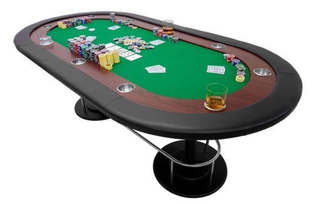 Maxstore Full House Pokertisch für bis zu 10 Spieler in 3 Farben für 148,49€