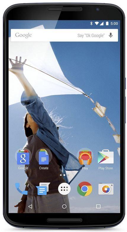 Motorola Nexus6 Motorola Nexus 6   Android 5 Smartphone mit 32GB für 529,62€