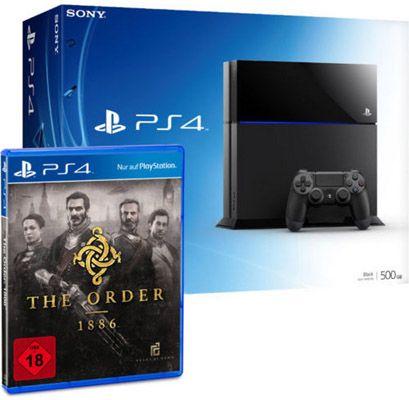 Playstation 4 + The Order: 1886 für 389€