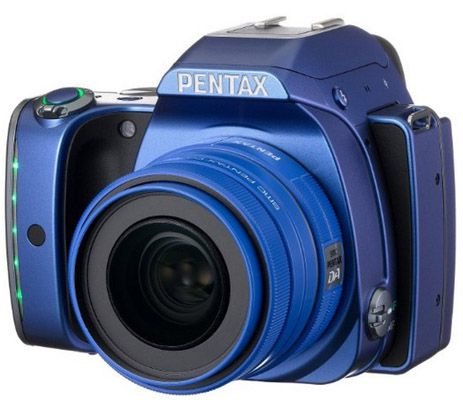 Pentax K S1 Pentax K S1 SLR Digitalkamera (20 MP, WLAN, Full HD, SMC DA 35 mm Objektiv) für 405,30€