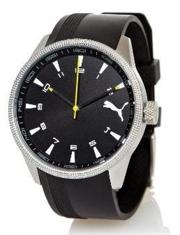 Puma Uhr PUMA analoge Herren Uhr   mit Mineralglas + Kautschukarmband für 22,22€   Update!
