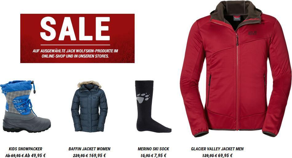 Rabatt im Sale bei Jack Wolfskin1 Jack Wolfskin Online Shop   bis zu 50% Rabatt auf ausgewählte Artikel + 10% Gutscheincode   Update