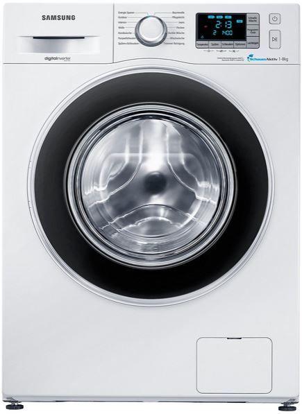 Samsung Wf80 Waschmaschine Samsung WF80F5EB   Waschmaschine mit 1400 UpM und 8 kg Volumen (EEK: A+++) für 389€ (statt 529€)