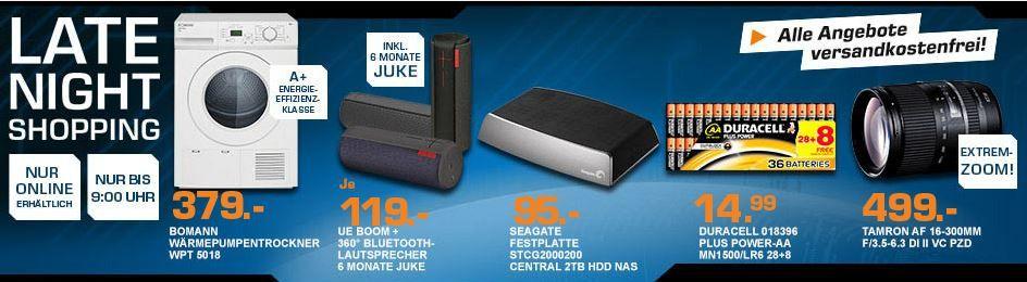 Saturn late night ULTIMATE EARS UE BOOM Bluetooth Lautsprecher für 119€ – und mehr Saturn Late Night Angebote