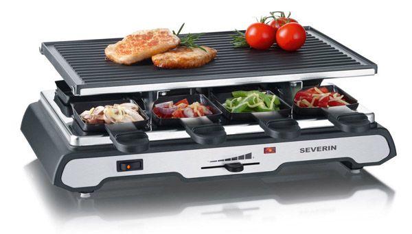 Severin RG 2685 Raclette Grill mit 8 Pfännchen für 40,94€