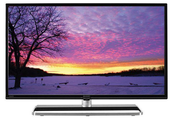 Sharp LC 40LE363EN   40 Zoll Full HD Fernseher mit WLAN und Triple Tuner für 307,89€