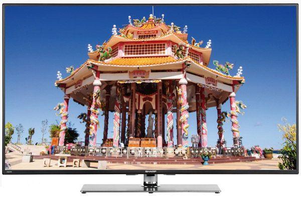 Sharp LC 50LE772EN Sharp LC 50LE772EN   50 Zoll 3D Full HD Fernseher mit 4x 3D Brillen, WLAN und Triple Tuner für 499€