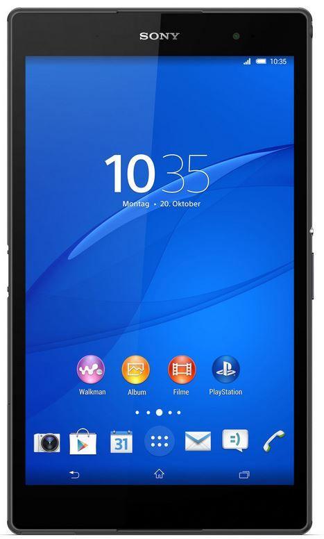 Sony Xperia Z3 Sony Xperia Z3 Compact   8 Zoll Tablet Wi Fi 32GB für 333€   Update