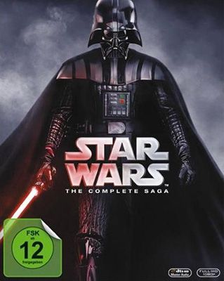 Star Wars: Complete Saga 1 6 Blu ray Box ab 49€ (statt 59€)