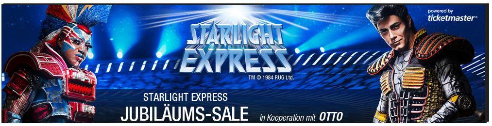 Tipp! Starlight Express 27.000 Tickets ab 27€   Update