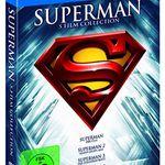 Superman 1-5 – Die Spielfilm Collection auf Blu-ray für 20,97€
