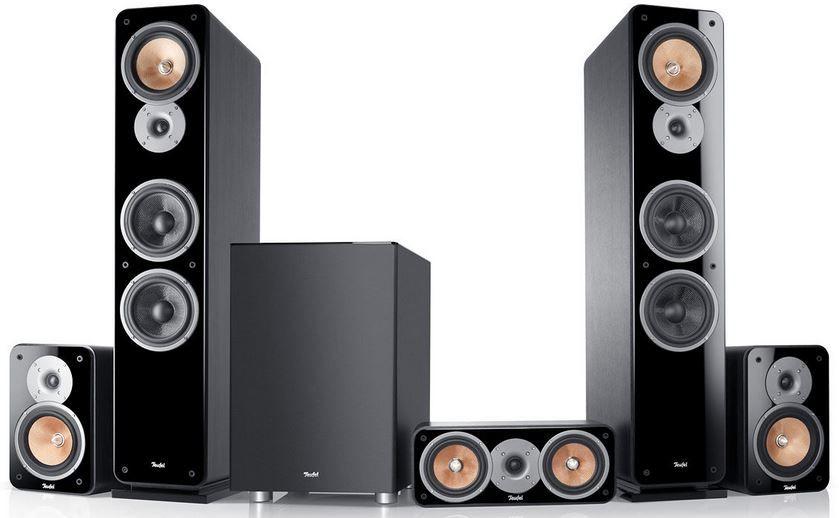 Teufel Ultima 40 Surround   5.1 HiFi Heimkino Lautsprecher Set für 799,99€