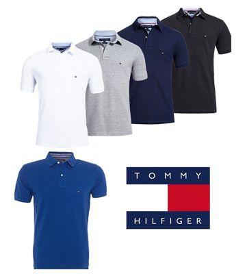 Schnell! Tommy Hilfiger Poloshirts für 33,40€ + kostenloser Versand   auch mit Rakuten Punkte zahlbar!