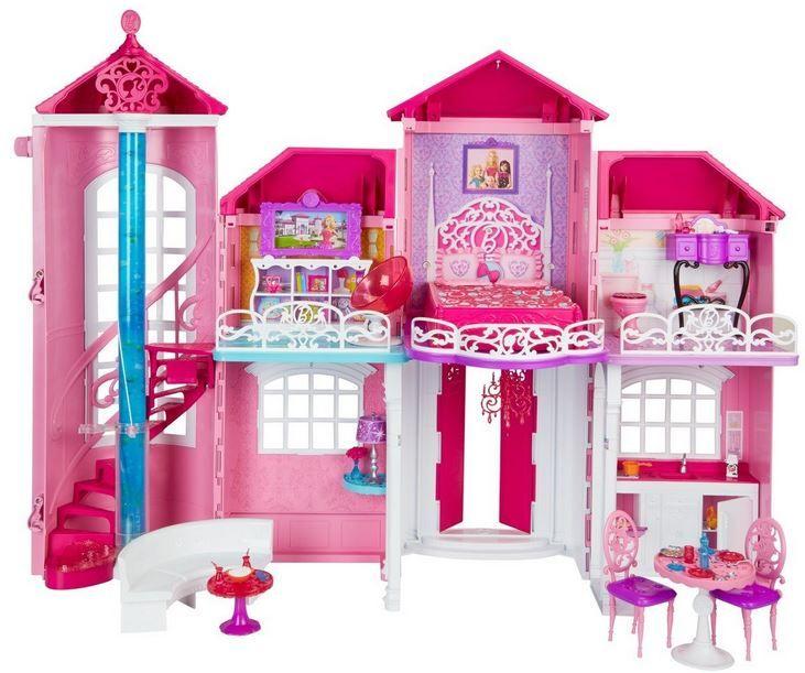 Barbie Traumhaus mit viel Zubehör für 67,99€