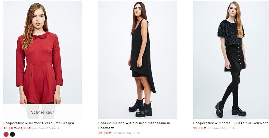 Urban Fashion Urban Outfitters   Street Fashion mit bis zu 75% Rabatt + excl. 15€ Gutschein (MBW 75€)   Update