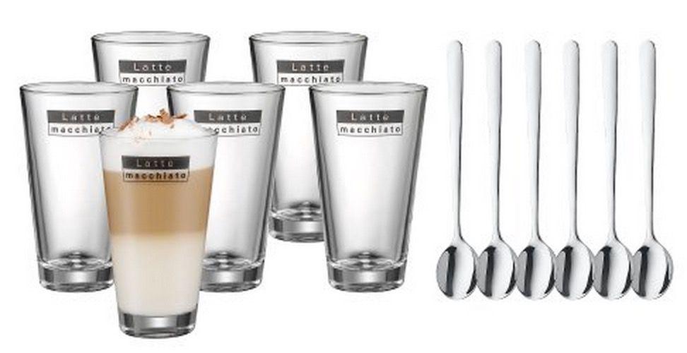 WMF Latte Macchiato Set Schnell! WMF Latte Macchiato Set ab 17,77€   6 Gläser inkl. 6 Löffel als Warehousedeal