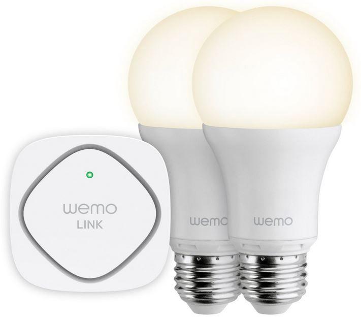 Wemo Belkin F5Z0489VF   2er Set Wemo Homeautomatisierung LED Leuchten für 49,99€